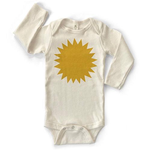 SUN | ORGANIC COTTON BABY ONESIE