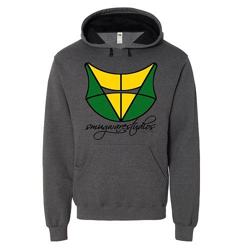 SMUG - ShieldFox Hoodie - Green/Yellow
