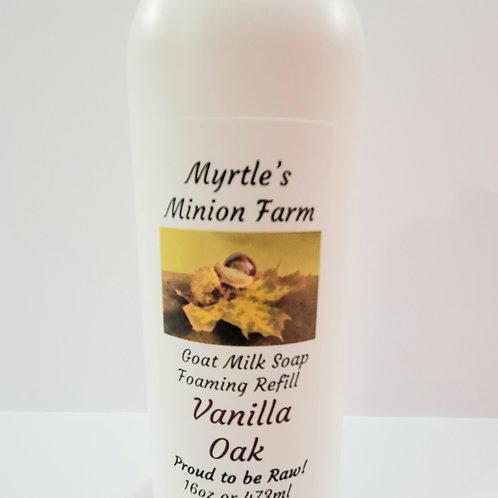 Vanilla Oak REFILL Liquid Hand Soap (Foaming Pump)