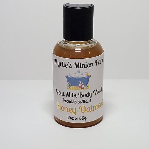 Honey Oatmeal Body Wash-Travel Size