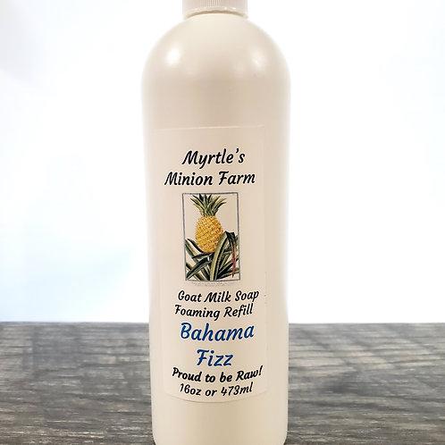 Bahama Fizz REFILL Liquid Hand Soap  (Foaming Pump)