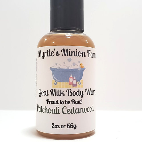 Patchouli Cedarwood Liquid Body Wash-Travel Size