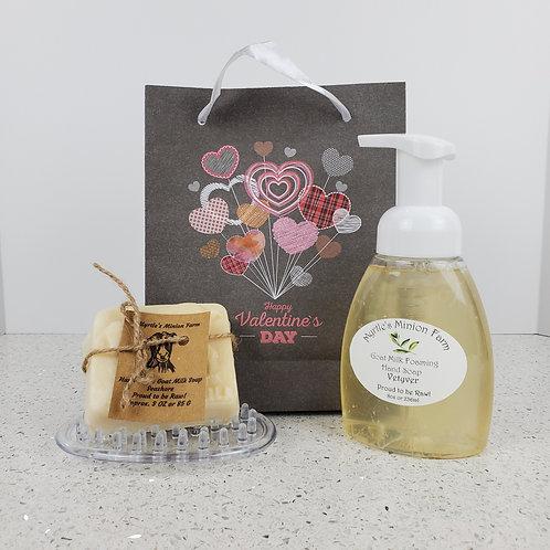Valentine Bath and Shower Bundle