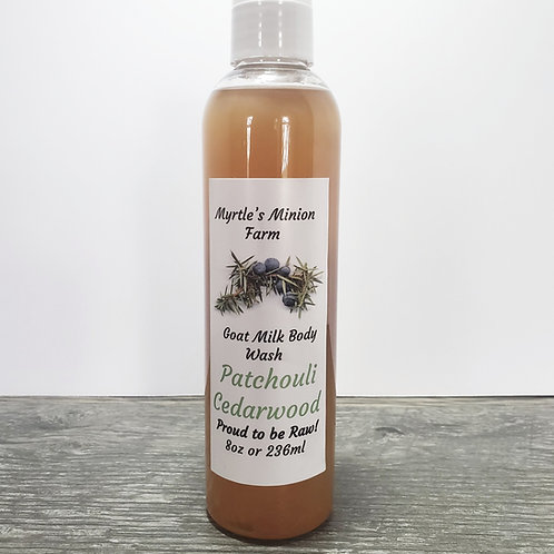 Patchouli Cedarwood Body Wash