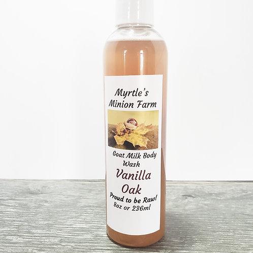 Vanilla Oak Body Wash