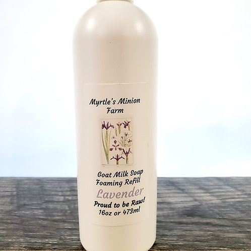 Lavender REFILL Liquid Hand Soap  (Foaming Pump)