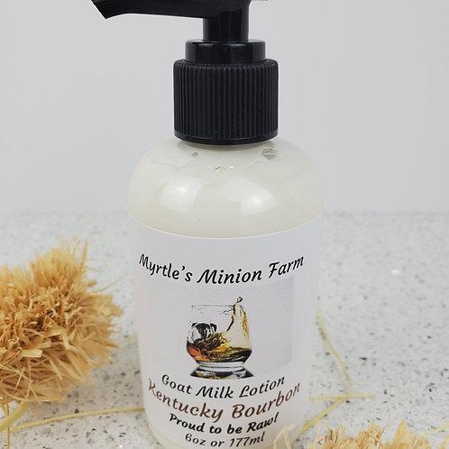 Kentucky Bourbon Goat Milk Lotion