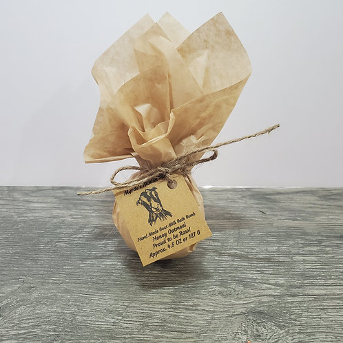 Honey Oatmeal Bath Bomb