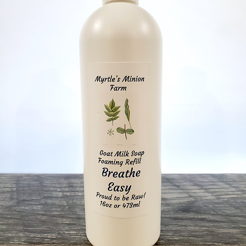 Breathe Easy REFILL Liquid Hand Soap  (Foaming Pump)