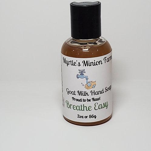 Breathe Easy Liquid Hand Soap-Travel Size