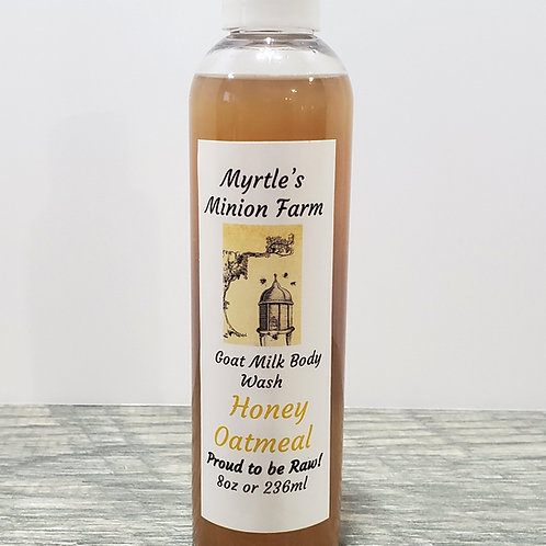 Honey Oatmeal Body Wash