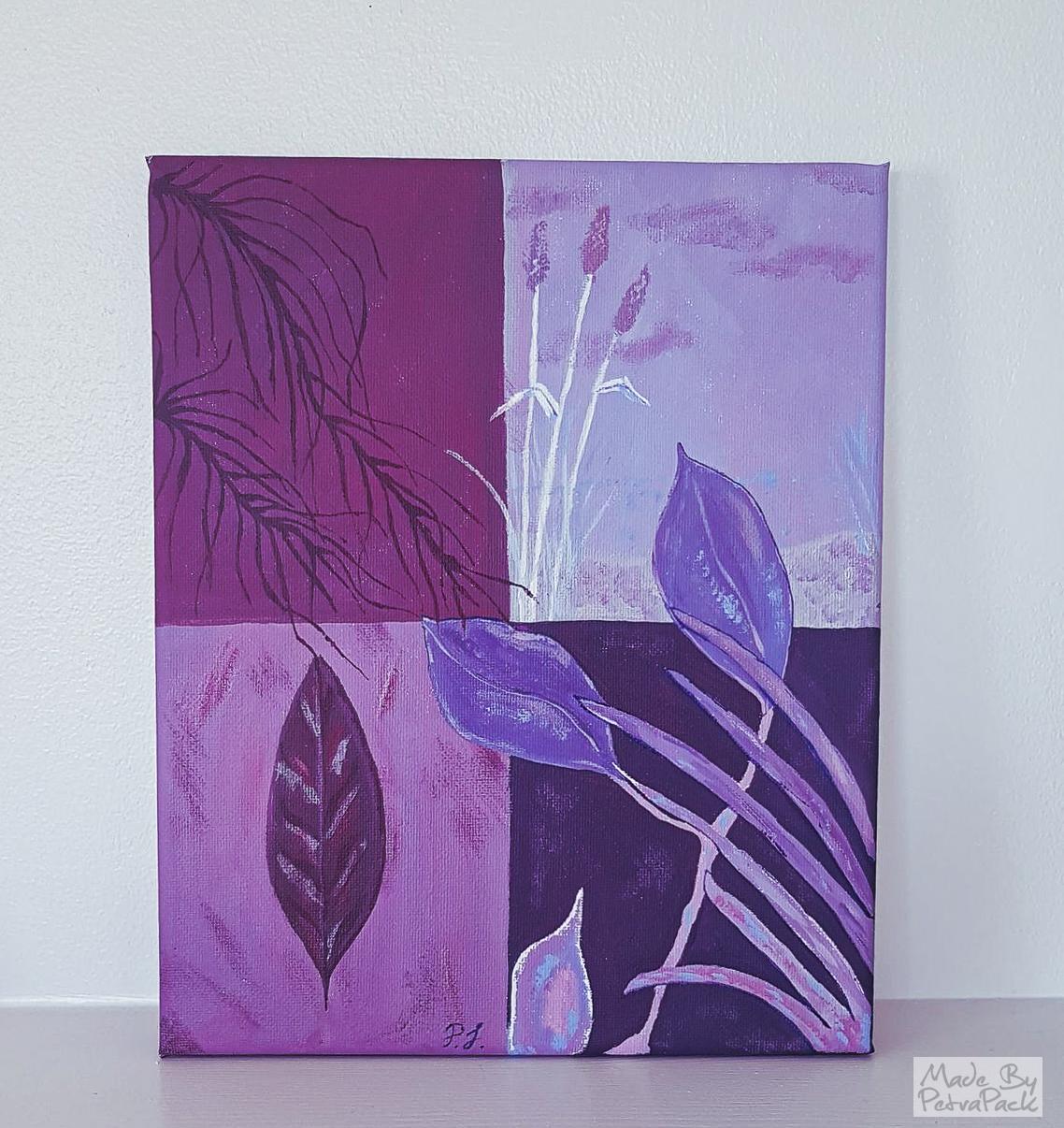 lila blad