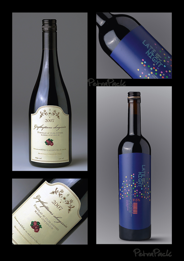 Wine Labels layout