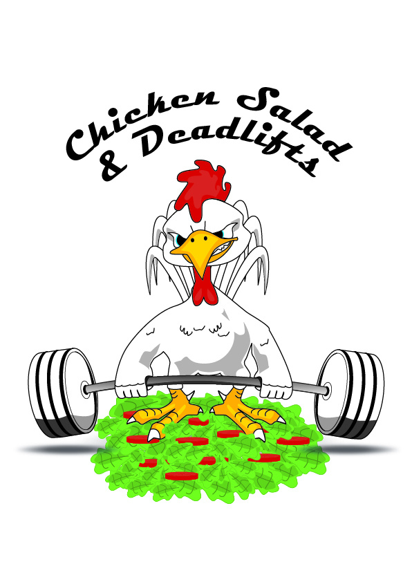 Chicken sallad and deadlifts 13
