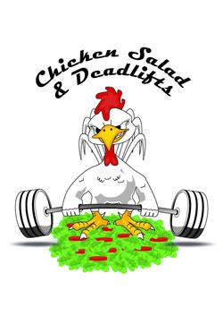 Chicken sallad and deadlifts 13