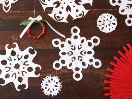 Craft of the Week: Paper Snowflakes