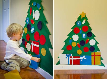 Craft of the Week - Felt Christmas Tree