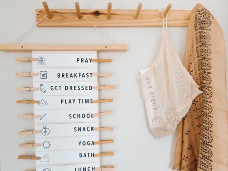 DIY Daily Schedule