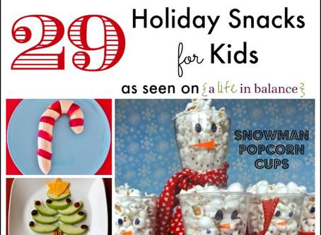 Festive Kids Snacks