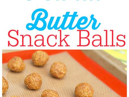 Easy Snack Recipe - Quinoa PB Balls