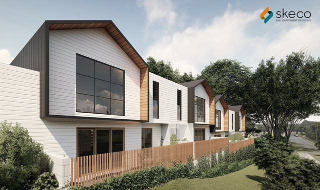 Townhouse and retail design for an excit