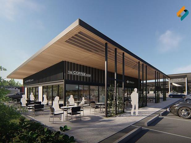 Concept for a shopping centre extension