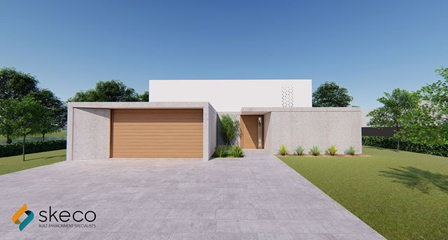 Modern Contemporary House. Let us design