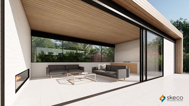 Another angle of the SKECO Pool House Co