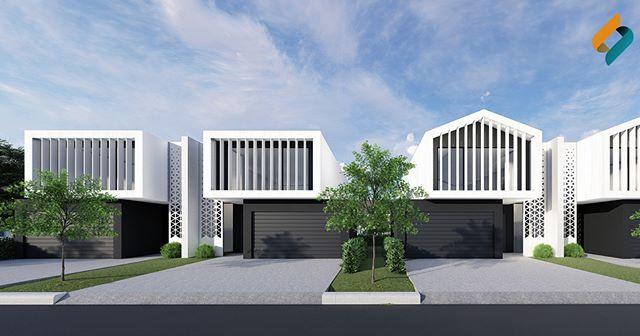 Concept for semi-detached living! Let us