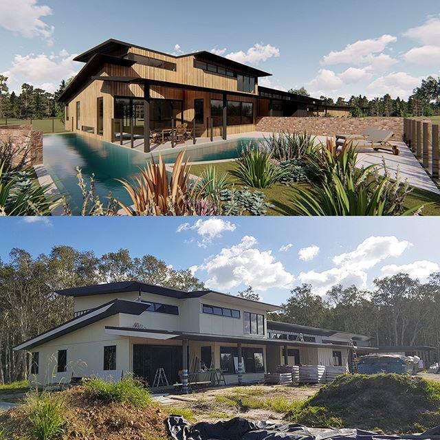 Concept and current construction progres