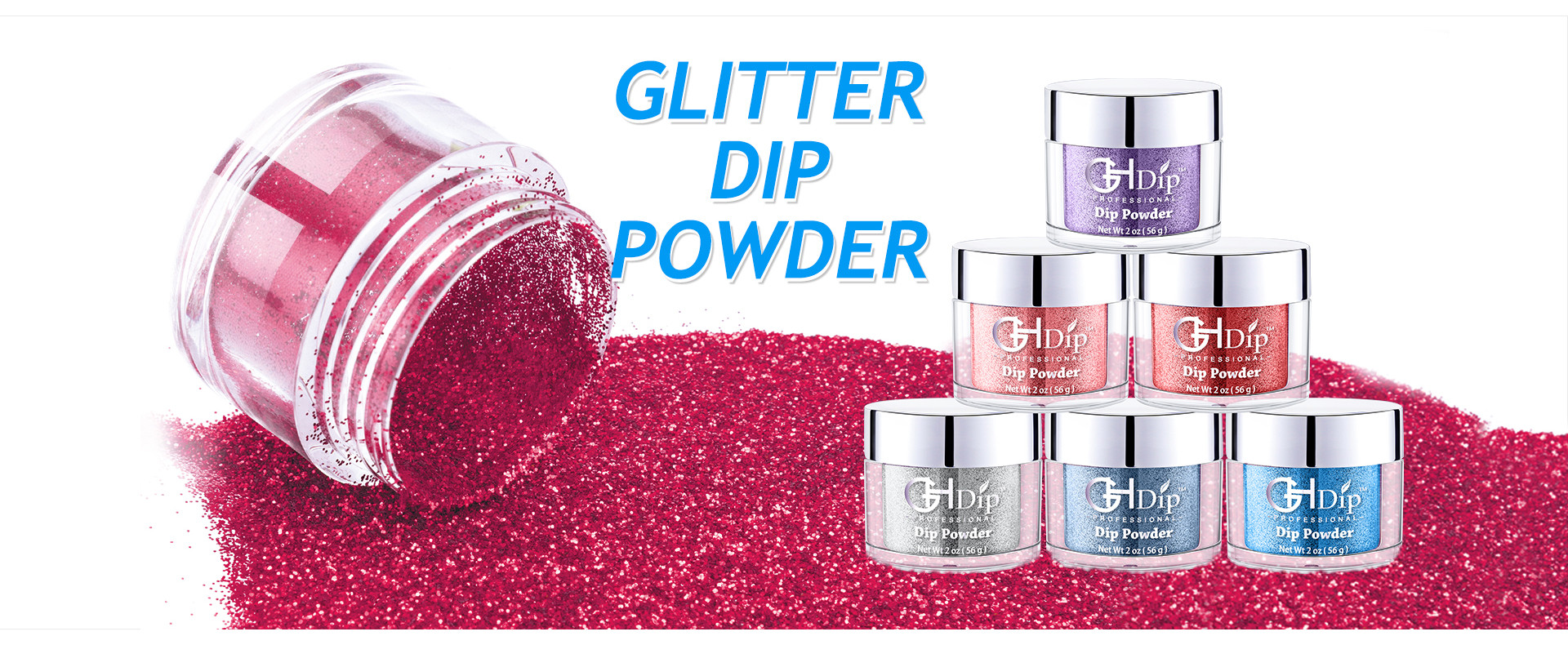 Glitter Nail Dip Powder