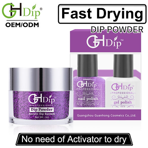 Glitter Nail Perfect Color Dip Powder Match Gel Polish