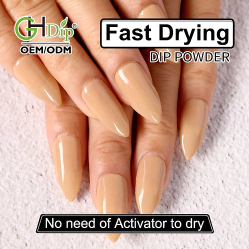 GHNDP-fu10 Nude Color Nail Dipping Powder