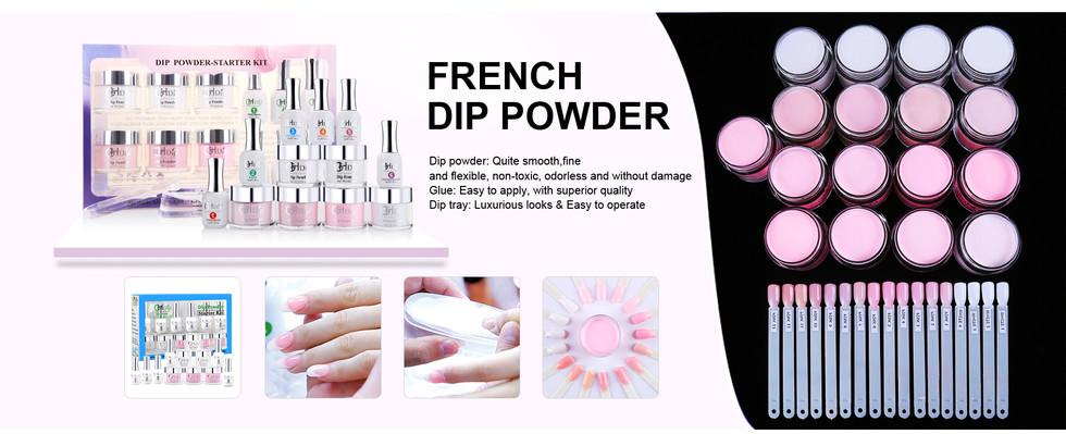 French nail Dip Powder Starter Kit