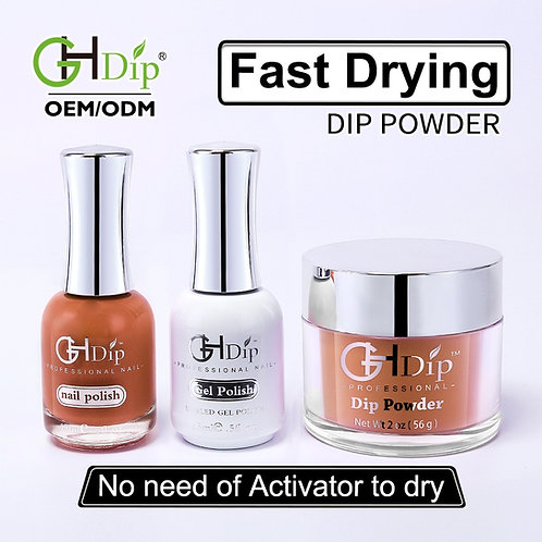 Dip Powder 3in1 set Color match gel nail polish