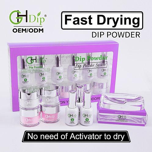 F004 Bulk Wholesale French Dip Kit,Dip Powder Nail Starter Kit