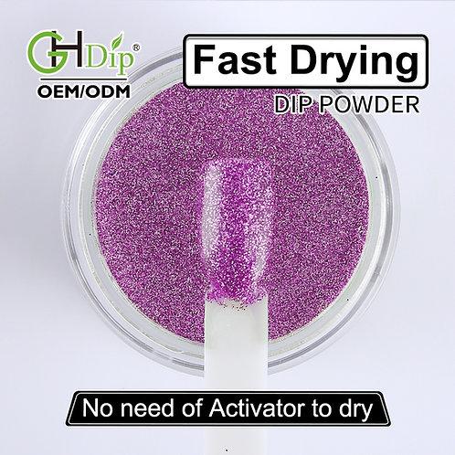 G539 Glitter Nail Fast Drying Dip Powder