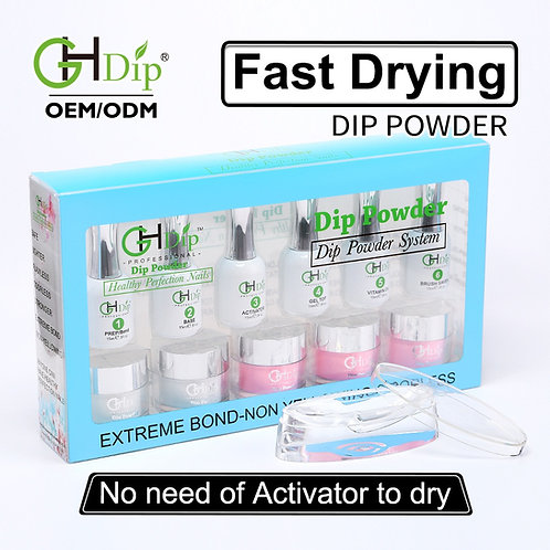F005 Wholesale French Nail Dip Powder Starter Kit
