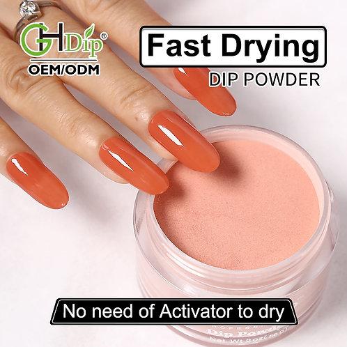 GHNDP-fu88 Nude Color Nail Dipping Powder
