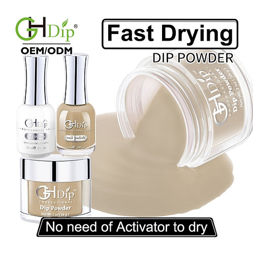 Perfect Color Match 3-in-1 Dip Powder match Gel Polish
