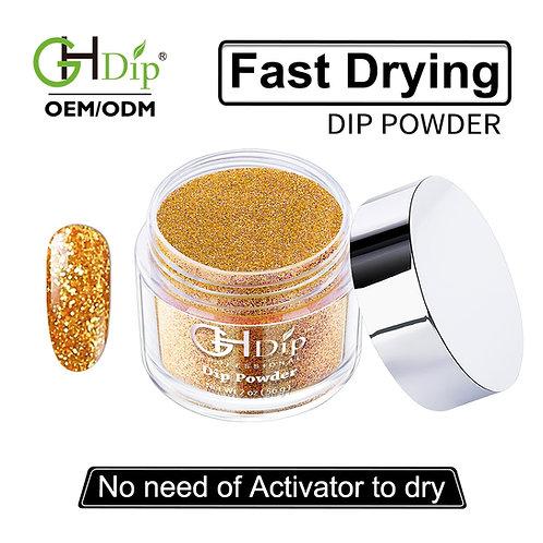 G543 Glitter Nails Fast Drying Dip Powder