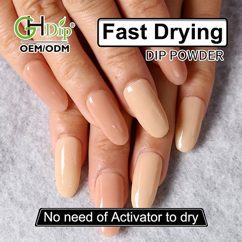 GHNDP-fu7fu8 Nude Color Nail Dipping Powder
