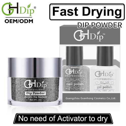 Glitter Dip Powder match nail polish and gel polish