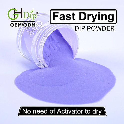 C129 Fast Drying Dip Powder Purple Colors