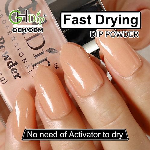 GHNDP-fu78 Nude color Dip Powder Nails