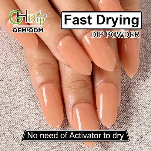 GHNDP-fu40 Nude color Dip Powder Nails System