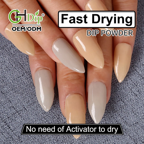 GHNDP-fu11fu23 Nude Color Nail Dipping Powder