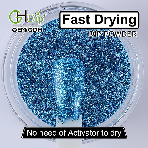 G587 Glitter Nail Fast Drying Dip Powder