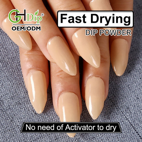 GHNDP-fu6 Nude Color Nail Dipping Powder