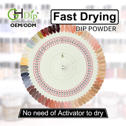 GHNDP-fu67 Nude color Dip Powder Nails